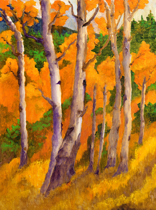 Autumn on the Slopes Limited Editions Prints